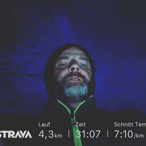 Running in the dark with Fitness Education